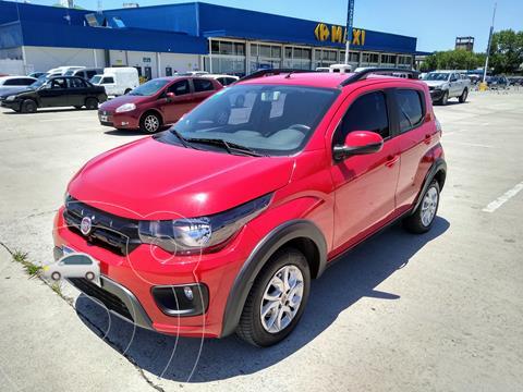 FIAT Mobi Way usado (2017) color Rojo Alpine precio $890.000