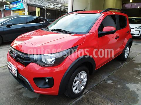 FIAT Mobi Way usado (2018) color Rojo Alpine precio $930.000