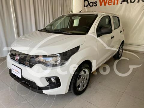 Fiat Mobi EASY 1.0L L4 69HP MT usado (2018) color Blanco precio $139,000