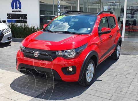 Fiat Mobi Way usado (2020) color Rojo precio $210,000