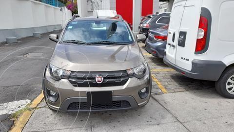 Fiat Mobi Way usado (2018) color Gris precio $150,000