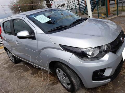 Fiat Mobi Like usado (2018) color Plata precio $128,000