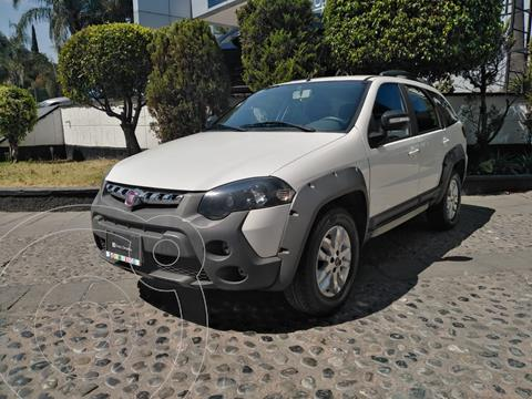 Fiat Palio Adventure 1.6L usado (2017) color Blanco financiado en mensualidades(enganche $42,500)