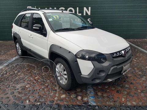 Fiat Palio Adventure 1.6L usado (2017) color Blanco financiado en mensualidades(enganche $43,900)