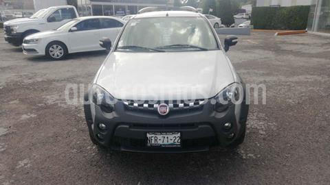 Fiat Palio 5P 1.6L usado (2018) color Plata precio $192,000