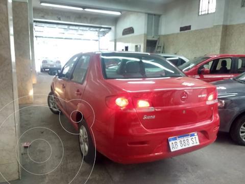 FIAT Siena EL 1.4 usado (2017) color Rojo Alpine precio $760.000