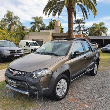 FIAT Strada Adventure 1.6 Cabina Doble Seguridad usado (2014) color Marron precio $1.135.000