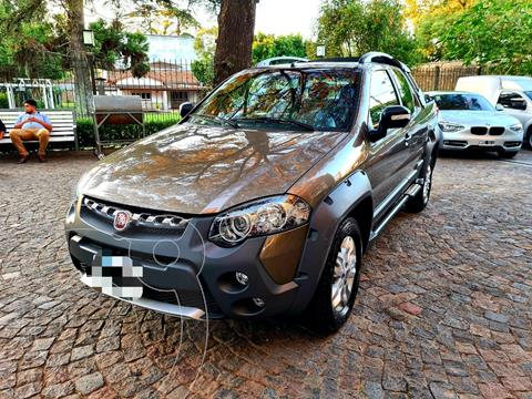 FIAT Strada Adventure 1.6 Cabina Doble 3 Puertas usado (2016) color Marron financiado en cuotas(anticipo $1.070.000)
