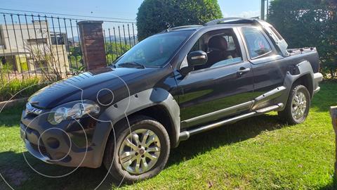 FIAT Strada Adventure 1.6 Cabina Doble Seguridad usado (2013) color Negro Vesubio precio $895.000