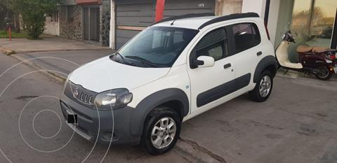 FIAT Uno 5P 1.4 Fire Evo Way usado (2013) color Blanco Banchisa financiado en cuotas(anticipo $540.000)