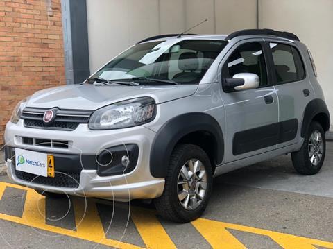 Fiat Uno 1.4 Way usado (2018) color Plata Bari precio $30.990.000