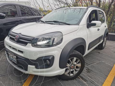 Fiat Uno Way usado (2018) color Blanco precio $170,000