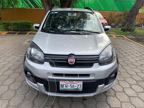 Fiat Uno Way usado (2018) color Plata precio $145,000