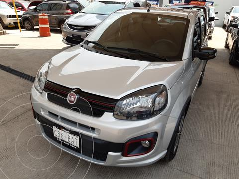 Fiat Uno Sporting usado (2019) color Plata precio $192,000