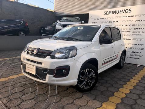 Fiat Uno Sporting usado (2018) color Blanco precio $198,000
