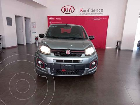 Fiat Uno Way usado (2018) color Gris precio $159,000