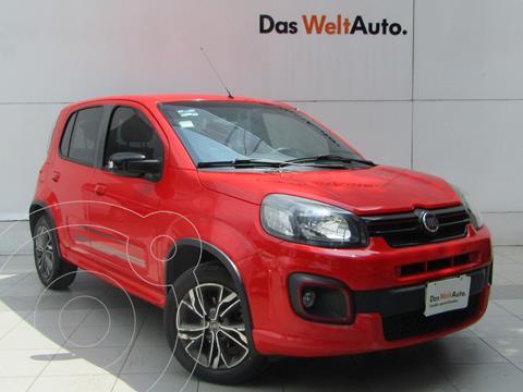 Fiat Uno Sporting usado (2017) color Rojo Alpine precio $157,000