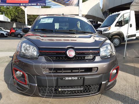 Fiat Uno Sporting usado (2020) color Gris precio $225,400