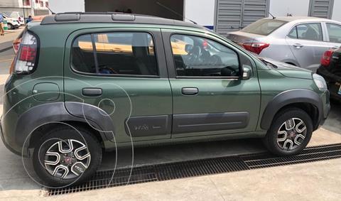 Fiat Uno Way usado (2016) color Verde precio $117,000