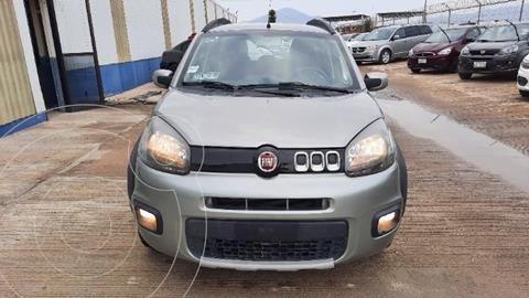 Fiat Uno Way usado (2016) color Gris precio $160,000