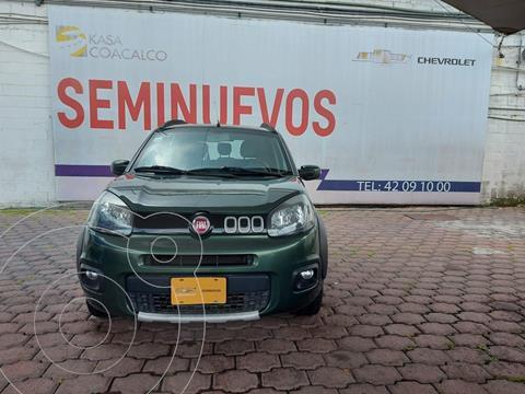 Fiat Uno Way usado (2016) color Verde Oscuro precio $160,000