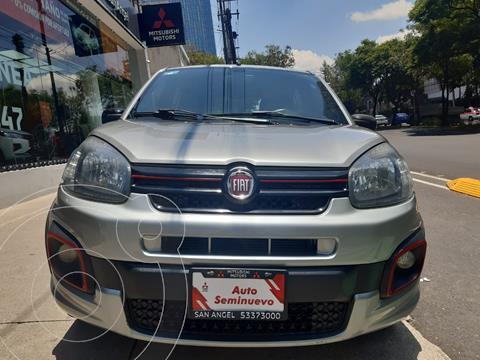 Fiat Uno Sporting usado (2018) color Gris precio $179,000