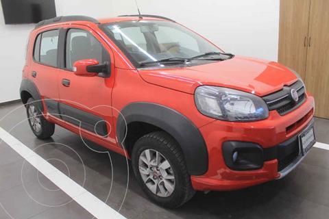 Fiat Uno Way usado (2018) color Rojo precio $175,000