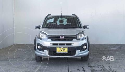 Fiat Uno Way usado (2018) color Plata Dorado precio $158,000