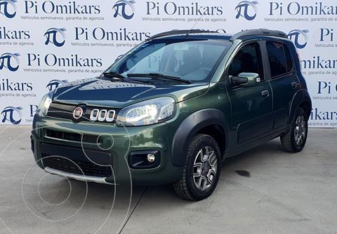 Fiat Uno Way usado (2016) color Verde precio $150,000