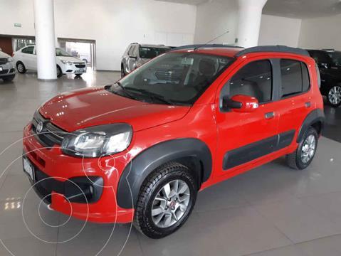Fiat Uno Way usado (2018) color Rojo precio $169,900
