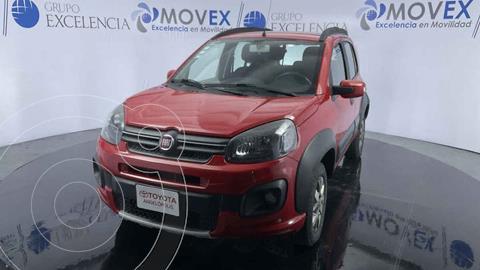 Fiat Uno Way usado (2018) color Rojo precio $165,000