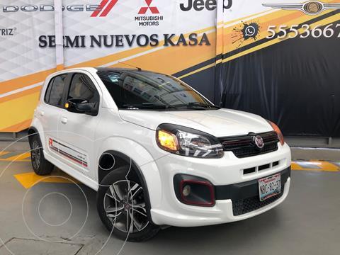 Fiat Uno Sporting usado (2017) color Blanco precio $159,000