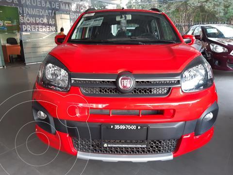 Fiat Uno Way usado (2020) color Rojo precio $215,900
