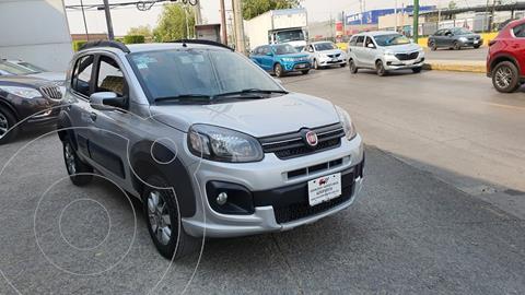 Fiat Uno Way usado (2019) color Plata precio $185,000