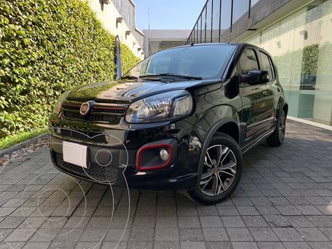 Fiat Uno Sporting usado (2018) color Negro precio $189,000