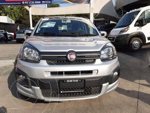 Fiat Uno Way usado (2020) color Plata precio $215,900