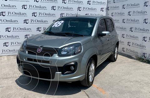 Fiat Uno Way usado (2018) color Gris precio $155,000