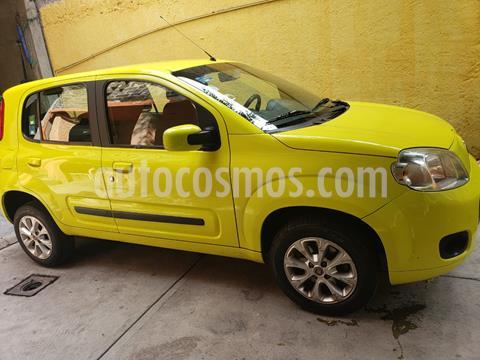 Fiat Uno 1.4L usado (2013) color Amarillo Citrus precio $78,000