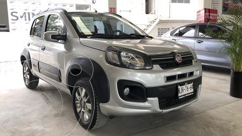 foto Fiat Uno Way usado (2019) color Plata precio $175,000