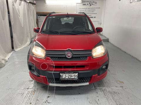 Fiat Uno Way usado (2018) color Rojo precio $155,000