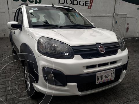 Fiat Uno Way usado (2017) color Blanco precio $155,000