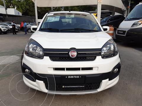 Fiat Uno Way usado (2020) color Blanco precio $215,900