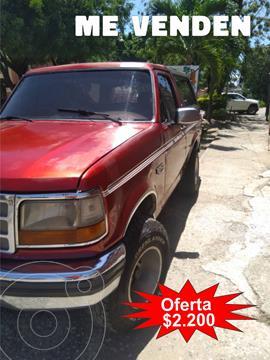 Ford Bronco Elite 4x4 V8 5.0i 16V usado (1995) color Rojo precio u$s2.200