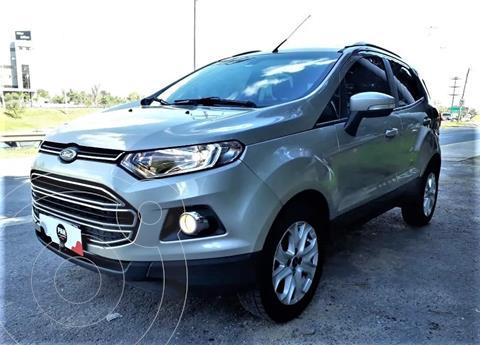 Ford EcoSport 1.6 Titanium usado (2013) color Gris Plata  precio $1.400.000