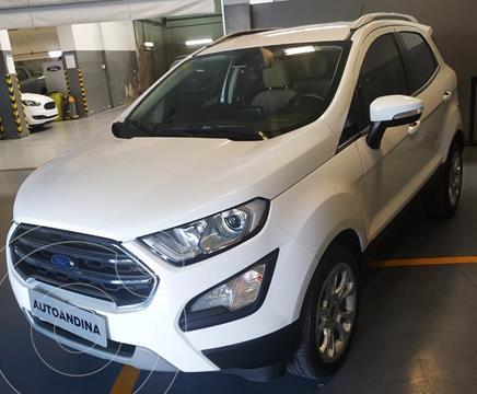 Ford EcoSport Titanium 1.5L usado (2017) color Blanco precio $1.750.000