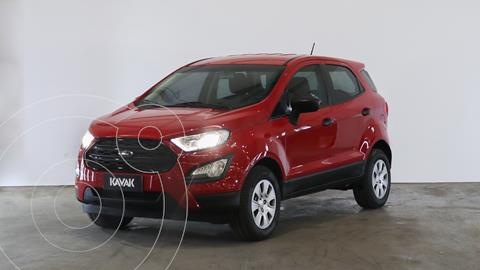 Ford EcoSport S 1.5L usado (2018) color Rojo Rubi precio $1.940.000