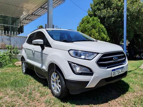Ford EcoSport S 1.5L usado (2017) color Blanco precio $1.600.000