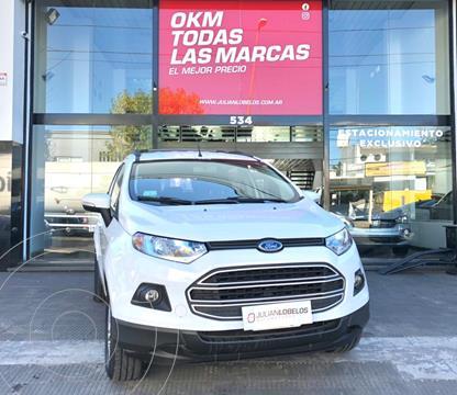 Ford EcoSport 1.6L SE usado (2015) color Blanco Marfil financiado en cuotas(anticipo $650.000)