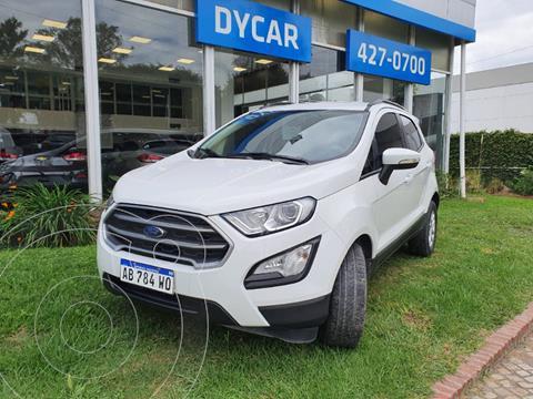 Ford EcoSport S 1.5L usado (2017) color Blanco precio $1.850.000