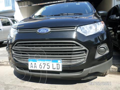Ford EcoSport 1.6L S usado (2016) color Negro precio $1.320.000